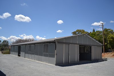 Loomis Basin Equine Medical Center Clinic Veterinary FCP Gable Barn Stalls